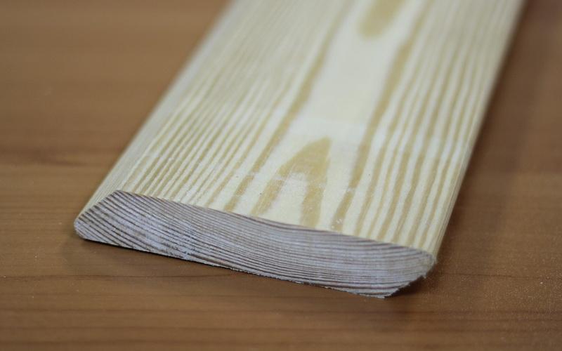 Косой планкен из лиственницы