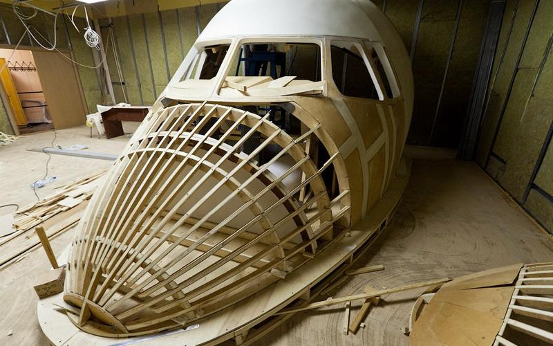 Каркас самолета с применение авиационной фанеры